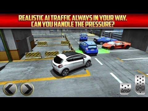 3d Multi Level Car Parking Simulator Game Ios Gameplay