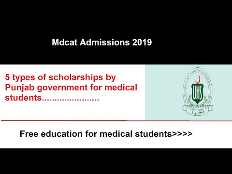 5 Type Of Scholarships For Medical Students