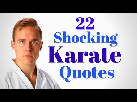 22 Historical Karate Quotes That Might Shock You