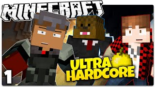 Minecraft UHC #1 | DIAMONDS!? | Minecraft Ultra Hardcore w/ Bajan Canadian & JeromeASF