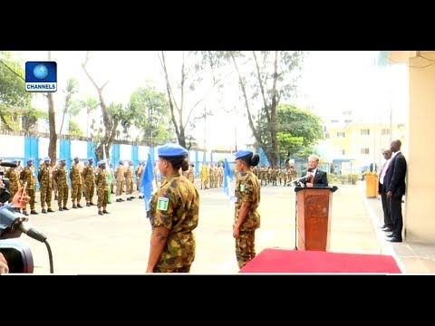 Last Batch Of UN Peace Keeping Force Leave Liberia After 14 Years |Diplomatic Channel|