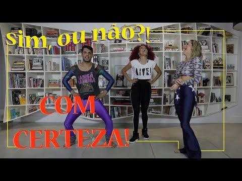 Sim ou não? Gio Ewbank e Renner Souza requebram ao som de Anitta | GIOH