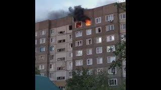 Первые кадры после взрыва газа в Моршанске (13.06.17)