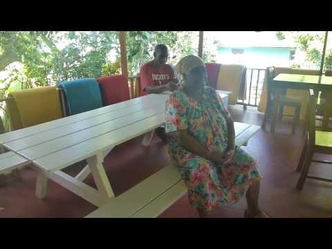 elfi & sonja at Lower Bay Guesthouse in Bequia, Karibik