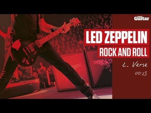 Guitar Lesson: Led Zeppelin 'Rock And Roll' -- Part Two -- Verse (TG215)