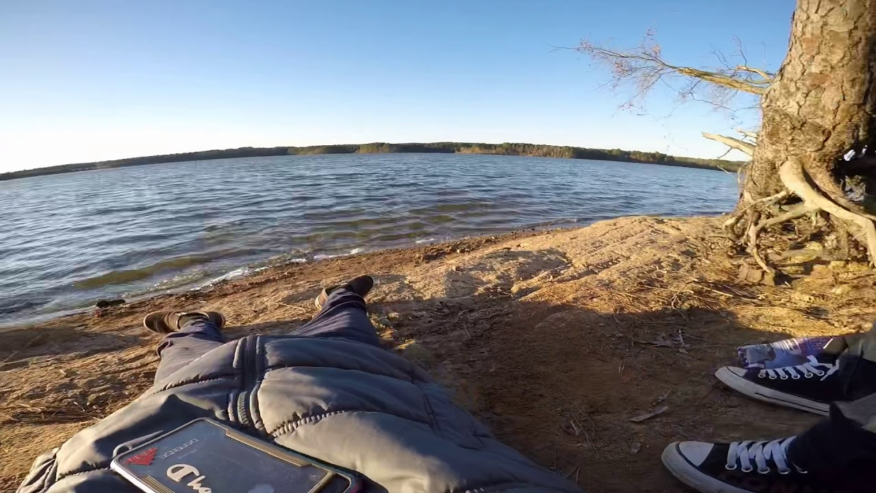 Camping trip at lake Jordan GoPro edit - YouTube