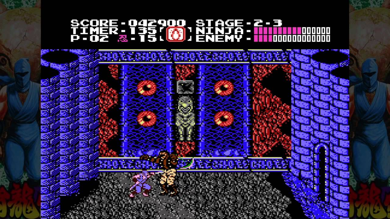 Ninja Gaiden Nes Level 2 Boss Youtube