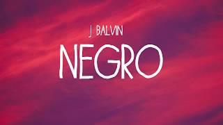 | j balvin - negro (in colores album) {song 7} [lyrics video] 🎵🎵🎵