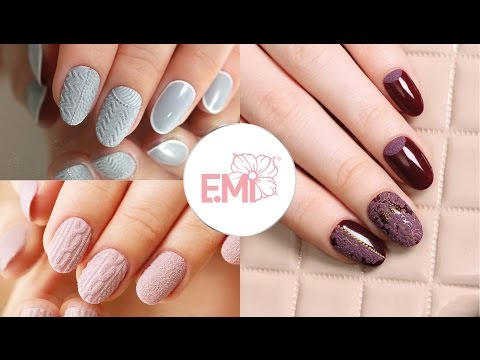 Дизайн ногтей Бархатный песок от Екатерины Мирошниченко
