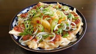 Новинка! вкусный ужин из простых продуктов/вкусный рецепты/быстрый сытный ужин/узбекская кухня