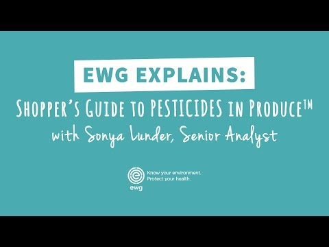 Pesticides on Produce: The Dirty Dozen and Clean Fifteen