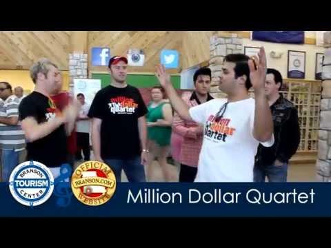 Million Dollar Quartet visit Branson Tourism Center