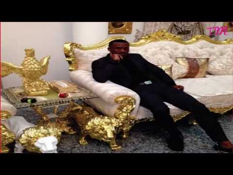 P Square 's Gold furnished mansion in Lagos - ( 2017 )