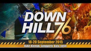Indonesian Downhill 76 - Kejurnas 2015 seri 4 (Bukit Klemuk Songgoriti Batu Malang)