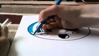 How draw bubblegum.