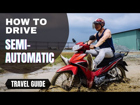 How to drive motorbike in Vietnam