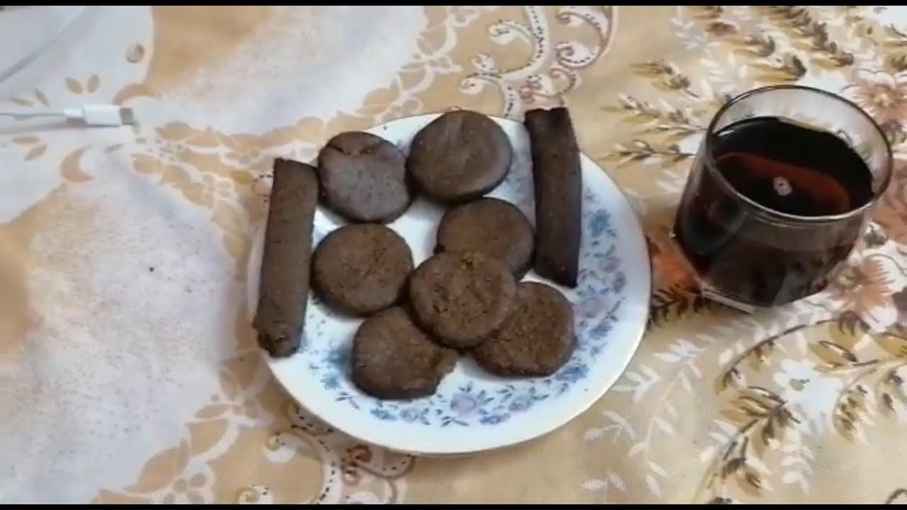طريقة عمل البسكوت بالكاكاو مع كوباية الشاي بطريقة سريعة وسهلة اوى
