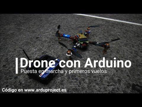 Drone casero con Arduino Uno. Como hacer un drone con Arduino paso a paso