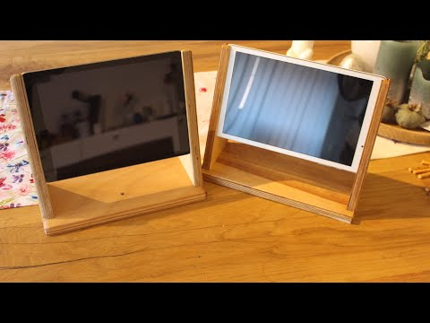 Small wooden Project tablet stand - Tablet/iPad Ständer