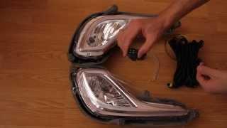 Противотуманные фары Hyundai Solaris 2010-(Установочный комплект противотуманных фар Hyundai Solaris 2010-. В комплекте кнопка включения, реле, проводка, лампо..., 2014-12-01T21:16:36.000Z)