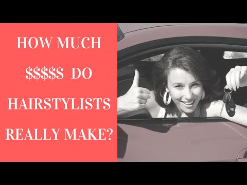 Cosmetologist Salary - How Much Do Hairstylist's REALLY Make?