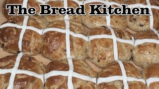 Gluten Free Hot Cross Buns Recipe in The Bread Kitchen