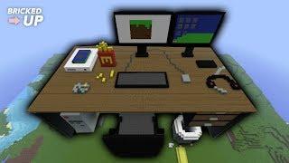 Minecraft Timelapse Computer Desk