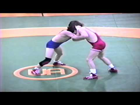 1989 Senior National Championships: Todd Hinds vs. Chris Hurst