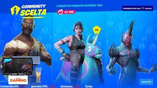 CHOOSE THE SKIN YOU WANT TO SHOPPARE! NEW FOR THE COMMUNITY ON FORTNITE #VOTA