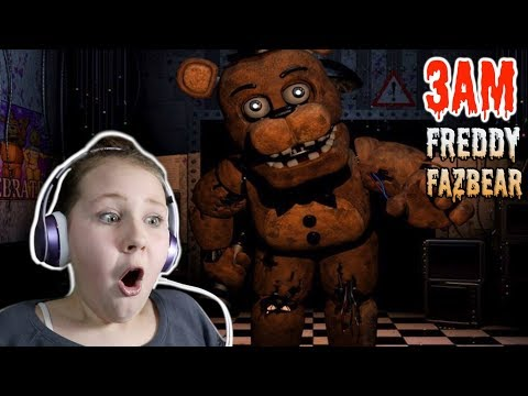 I Died in Five Nights At Freddy's AT 3AM!! Ruby Rube
