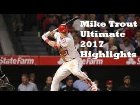 Mike Trout Ultimate 2017 Highlights
