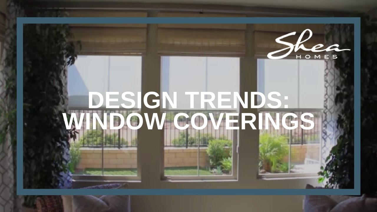 Shea Homes Design Studio: Window Coverings