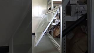電動推桿 ELA35 / 建築行業應用 / 電動開窗器 / 下掀式窗戶 5+5膠合玻璃 窗框尺寸160x100cm