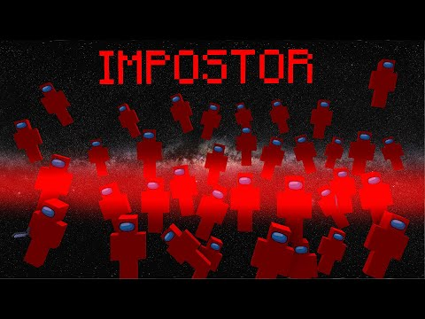 AMONG US SO MANY IMPOSTOR! - MONSTER SCHOOL MINECRAFT ANIMATION