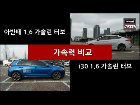 i30 vs      Hyundai i30 vs Elantra Turbo acceleration