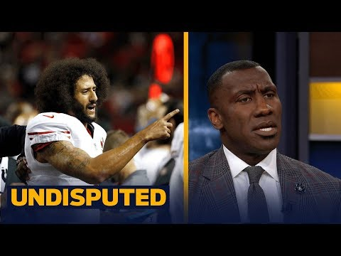Jay Cutler over Colin Kaepernick in Miami? Shannon thinks that's 'embarrassing' | UNDISPUTED