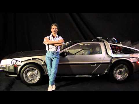 Marty Mcfly Delorean