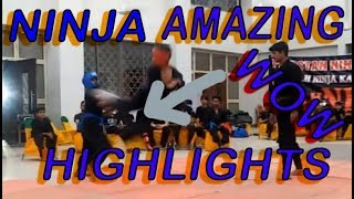 vuclip A H Ninja Martial Arts AMAZING! kicks | karate competition | fight highlights