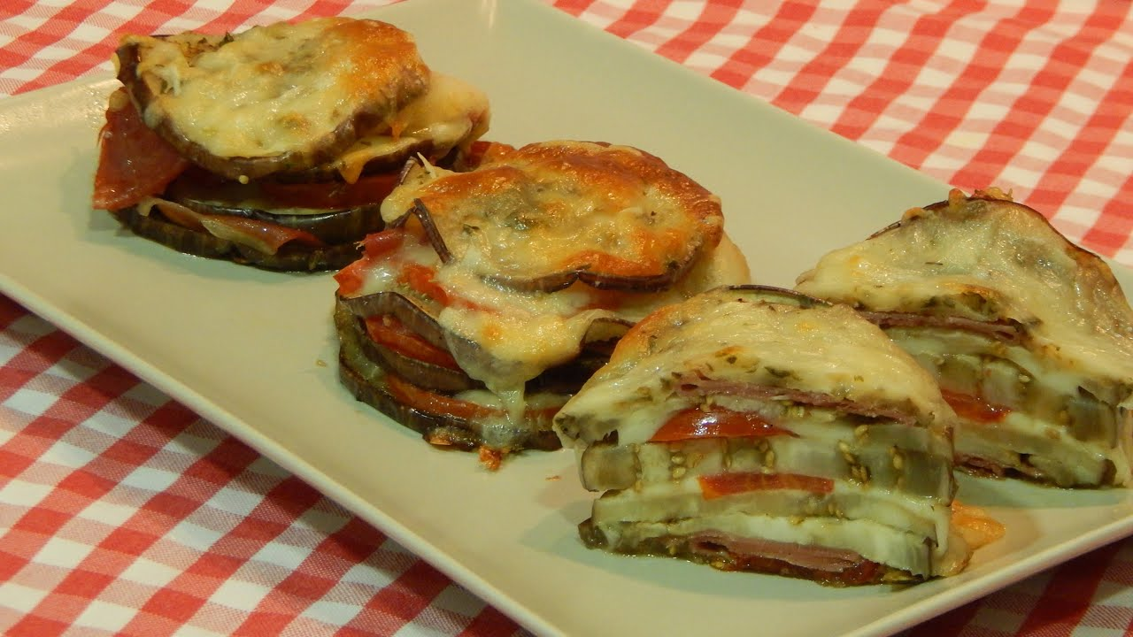 Recipe eggplant millefeuille - YouTube