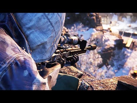 SNIPER GHOST WARRIOR Contracts - Release Date Announcement Trailer (PS4, Xbox One, PC)