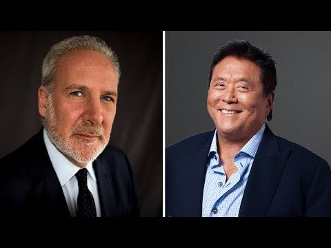Robert Kiyosaki Vs Peter Schiff - Is Bitcoin A Digital Gold 2.0