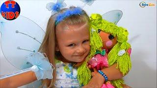 ✔ Кукла Лалалупси Волшебные Превращения от Ярославы / Doll Lalaloopsy Loopy Hair Butterfly / VLOG