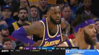 Joel Embiid, 76ers blow out LeBron James, Lakers despite Kyle Kuzma's 39 points   February 10, 2019