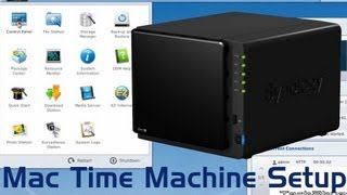 Mac OS X Time machine setup on Synology NAS