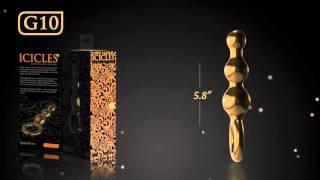 Icicles Gold Editon G10 - Анальные игрушки Краснодар