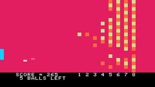 Apple II Longplay - Breakout