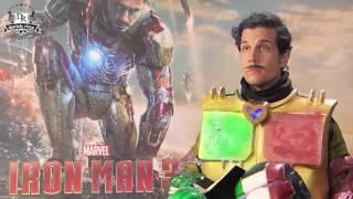 IRON MAN 3 meets Iron Italian (Robert Downey Jr & Gwyneth Paltrow meet Daniele Rizzo)