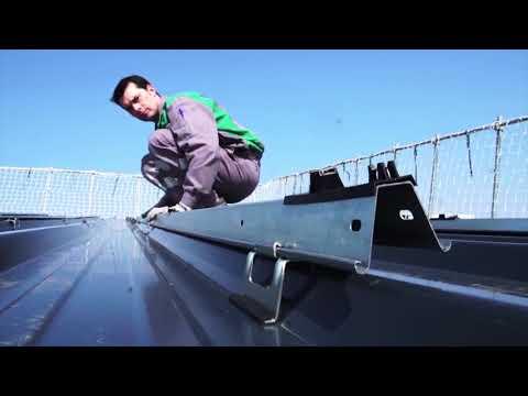 Dome Solar : Hélios B², solution de fixation PV pour bacs secs et panneaux sanwdichs (ATec)