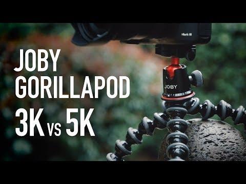 Joby Gorillapod 3K vs 5K - Which one should you get?