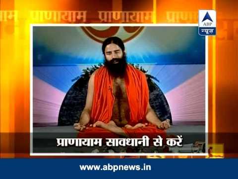 Baba Ramdev's Yog Yatra: cure for asthma